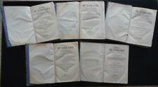 Manuel du Libraire et de L'Amateur de Livres Brunet Bruxelles 1839-45 5 Volumi