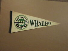 WHA New England Whalers Vintage Harpoon Logo Pennant