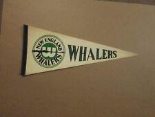 WHA New England Whalers Vintage Harpoon Logo Pennant