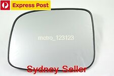 LEFT PASSENGER SIDE HOLDEN RODEO 2003-2008 MIRROR GLASS WITH BACK PLATE