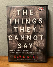 The Things They Cannot Say - Kevin Sites - Unabridged Audiobook MP3CD