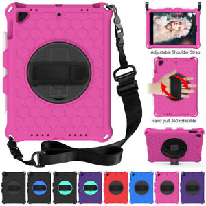 Kids Rugged Foam Rotating Stand Case Cover for iPad Mini 4 5 Pro 9.7 5th 6th Gen