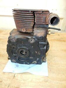 "Kohler M14 (14HP) Engine Block (3.50"" Bore) Big Exhaust Valve-CLEAN- USED"