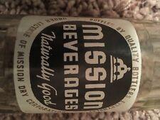 Mission Beverages Acl Soda Pop Bottle Bozeman Montana