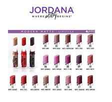 18 FULL SET Jordana Modern Matte Lipstick PARABEN FREE Made USA FREE GLOBAL SHIP