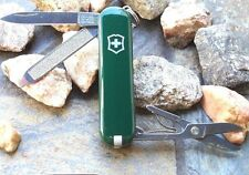 Victorinox Classic Sd Hunter Green 53024 Original Swiss Army Knife New Authentic