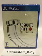 ABSOLUTE DRIFT ZEN EDITION - SONY PS4 - NEW SEALED NUOVO SIGILLATO - VERY RARE