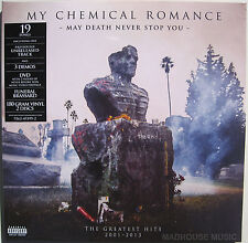 MY CHEMICAL ROMANCE LP x 2 + DVD  May Death Never Stop You SEALED + Armband
