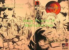 Serenity Better Days #1 SDCC Limited Edition California Browncoats Sketch Var.!