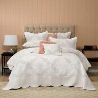 Bianca Madison Bedspread Set White