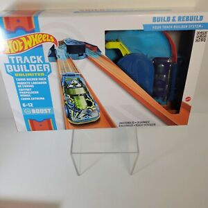 Hot Wheels Track Builder Unlimited Pack Curve Kicker Pack New Boost