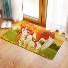 Neu Spice and Wolf Horo Anime Matte Toilette Vorleger Teppich Fußmatte 40x60CM