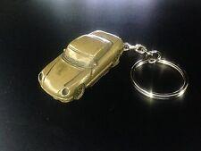 TVR Cerbera Brass Effect 3D split-ring keyring FULL CAR ref277