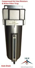 12 Compressed Air Line Moisture Amp Water Filter Trap Air Compressor Auto Drain