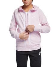 Nike Big Girls Sportswear Full-Zip Cotton Hoodie Size: M