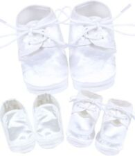 Boys' Polyester Slip - on Baby Booties