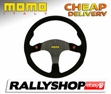 Momo MOD.80 Suede Black 80 Steering Wheel CHEAP DELIVERY race rally 350 mm