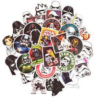 50 PCS Star Wars Sticker Cartoon Stickers Bomb for DIY Luggage Laptop Skateboard