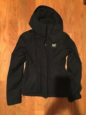 Abercrombie kids girls all season weather warriors navy jacket size L