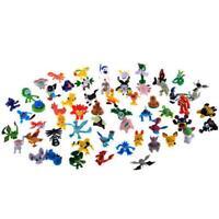 48pcs Wholesale Mixed Lots Pokemon Mini Random Pearl Figures New Hot Kids Toy XX