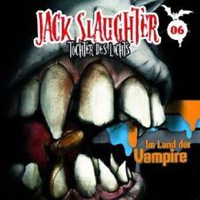 JACK SLAUGHTER-TOCHTER DES LICHTS - 06: IM LAND DER VAMPIRE  CD  HÖRSPIEL  NEU