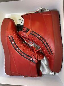 giuseppe zanotti sneakers 42 high top