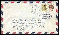 1970 ITALY Cover Nevi to Atlanta, Georgia USA, Air Mail B13