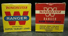 WINCHESTER RANGER SUPER TARGET LOAD EMPTY AMMO BOXES 12 ga GAUGE (C3)