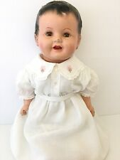 Huge Chubby Antique 26''  Life Size Composition Baby doll Antique Vintage VTG