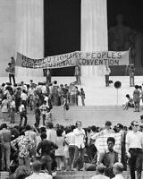 BLACK PANTHER PARTY & RPCC CONVENTION 8x10 SILVER HALIDE PHOTO PRINT