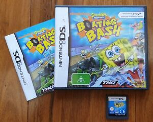 SpongeBob's Boating Bash for Nintendo DS/2DS/3DS Complete with Manual & Warranty