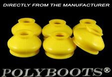 6x Polyboots Polyurethane Tie Rod End Ball Joint Dust Boots 14x31x23 mm Yellow