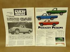 Vtg 1970s Datsun Pick Up Truck Brochure Lot Featuring Truck Van Ideas Magazine