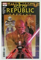 Star Wars Age Of Republic Special #1 Marvel Comics 1st Print 2018 unread NM