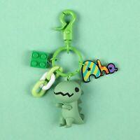 Fashion Cute Dinosaur Cartoon Creative Car Phone Keyring Keychain Gifts o