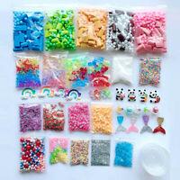 Slime Supplies Kit Foam Beads Charms Styrofoam Balls Tools Für DIY Slime Making