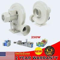 New !!! 110v 250w Centrifugal Medium Pressure Fan Dust/Smoke Exhaust Blower Fan