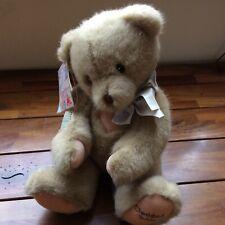 🐻Dakin Betty  Bear With Stand NWT Part Of Cherished teddies Range🐻