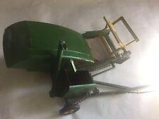 John Deere Toy Combine Vintage Mid Century Pull Type