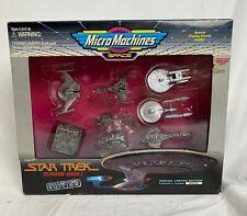 "Micro Machines Space Star Trek set by Galoob ""The Movies"" vintage sci-fi NIB"