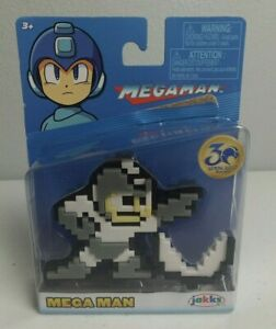 Capcom JAKKS Pacific 30th Anniversary Mega Man Rolling Cutter 8 Bit Figure