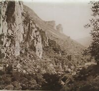 Gorges Tarn Francia Foto H12 Placca Da Lente Stereo Vintage