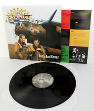 MAD CADDIES duck and cover LP Vinyl Record with lyrics insert