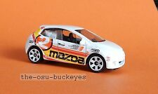 2011 Matchbox Loose Mazda 2 White with Red Black Yellow Brand New Combine Ship