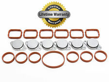 6x 33mm BMW SWIRL FLAP BLANKING PLATES MANIFOLD GASKETS REPLACEMENT