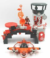 Fisher-Price Imaginext Sky Racers Playset w/ Action Figure Plane Landing Station
