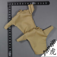 A351 1:6 Scale ace Military action figure parts Tan Tee shirt x 2