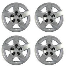 "4 Set Chevy MALIBU 17"" CHROME 5 Spoke Easy On Hub Cap Rim Steel Wheel Skin Cover"