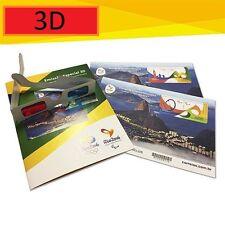 Kit 3D olympic games 2016 BRASIL 奥运会 Àoyùnhuì オリンピック Orinpikku 在3D邮票 Zài 3Dスタンプ