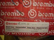 BREMBO (2) FRONT BRAKE DISC ROTOR 25070 1115 TO*YOTA COROLLA